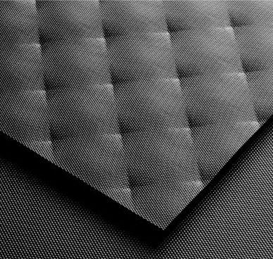 Szkło ornamentowe Colorimo 9005 Soft Czarny
