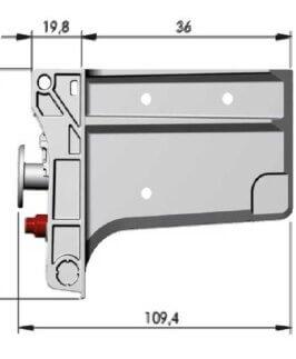 Zawieszki Libra H7 do szafek dolnych